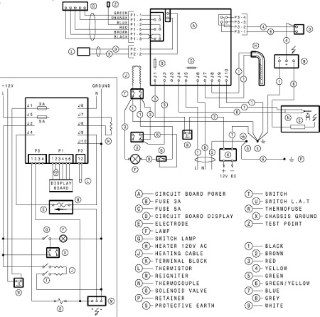 Dometic Control Board Wiring Diagram likewise Carrier Heating Wiring Diagram likewise Incubator Wiring Diagram moreover Building Panel Wiring Diagram additionally Honeywell R8184g Wiring Diagram. on heater sequencer wiring diagram