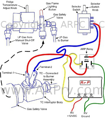norcold tc interrupt n400 n500 442 443 452 norcold refrigerator wiring diagram at alyssarenee.co