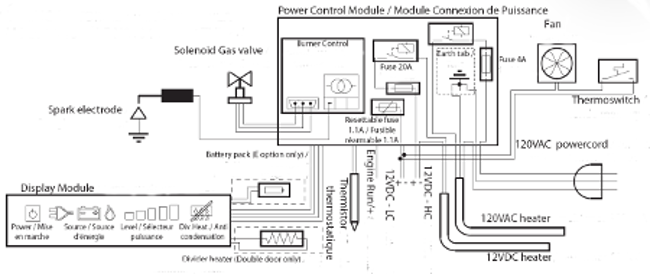 Norcold Control Board Wiring Diagram on atx power supply schematic diagram