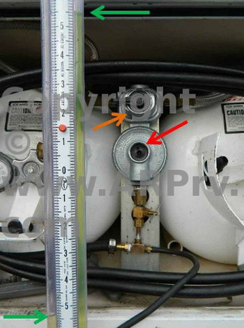 LP Gas Pressure Regulator