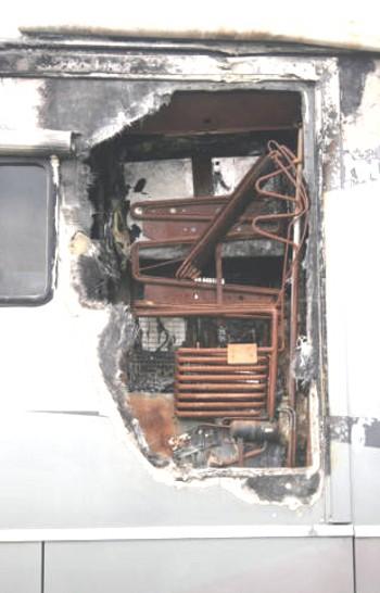 Rv Fires Rv Fire Safety Fridge Fires Rv Fire