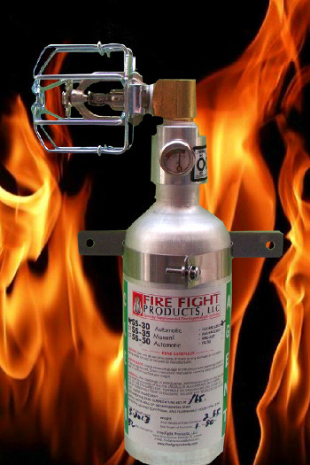 ARP Recommends Fridge Fire Extinguisher