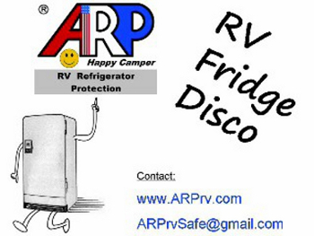 RV Disco Fridge