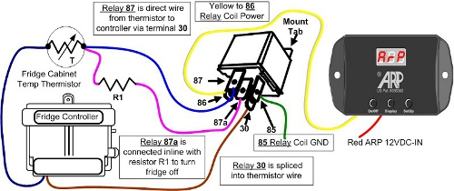 fridge thermistor rv fridge wiring norcold wiring dometic wiring arp wiring thermistor relay wiring diagram at bayanpartner.co
