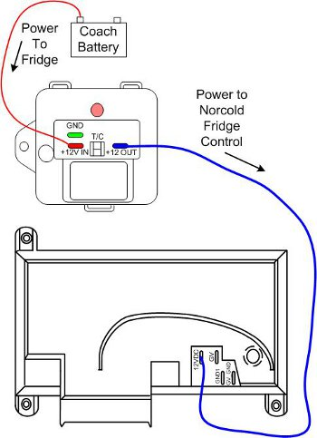 troubleshoot norcold recall reset recall fridge norcold not working